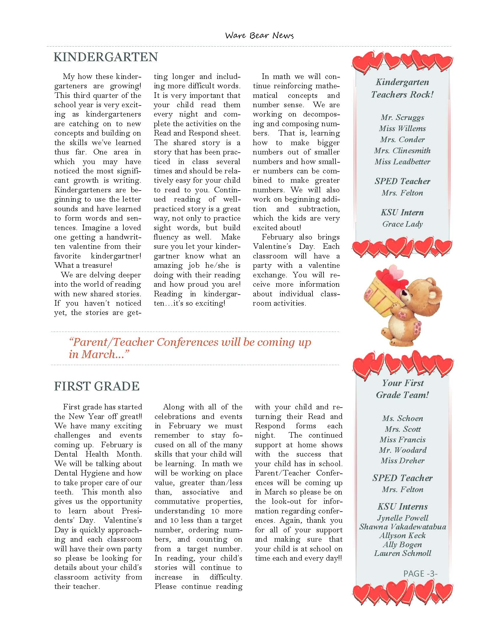 February eNewsletter Page 3