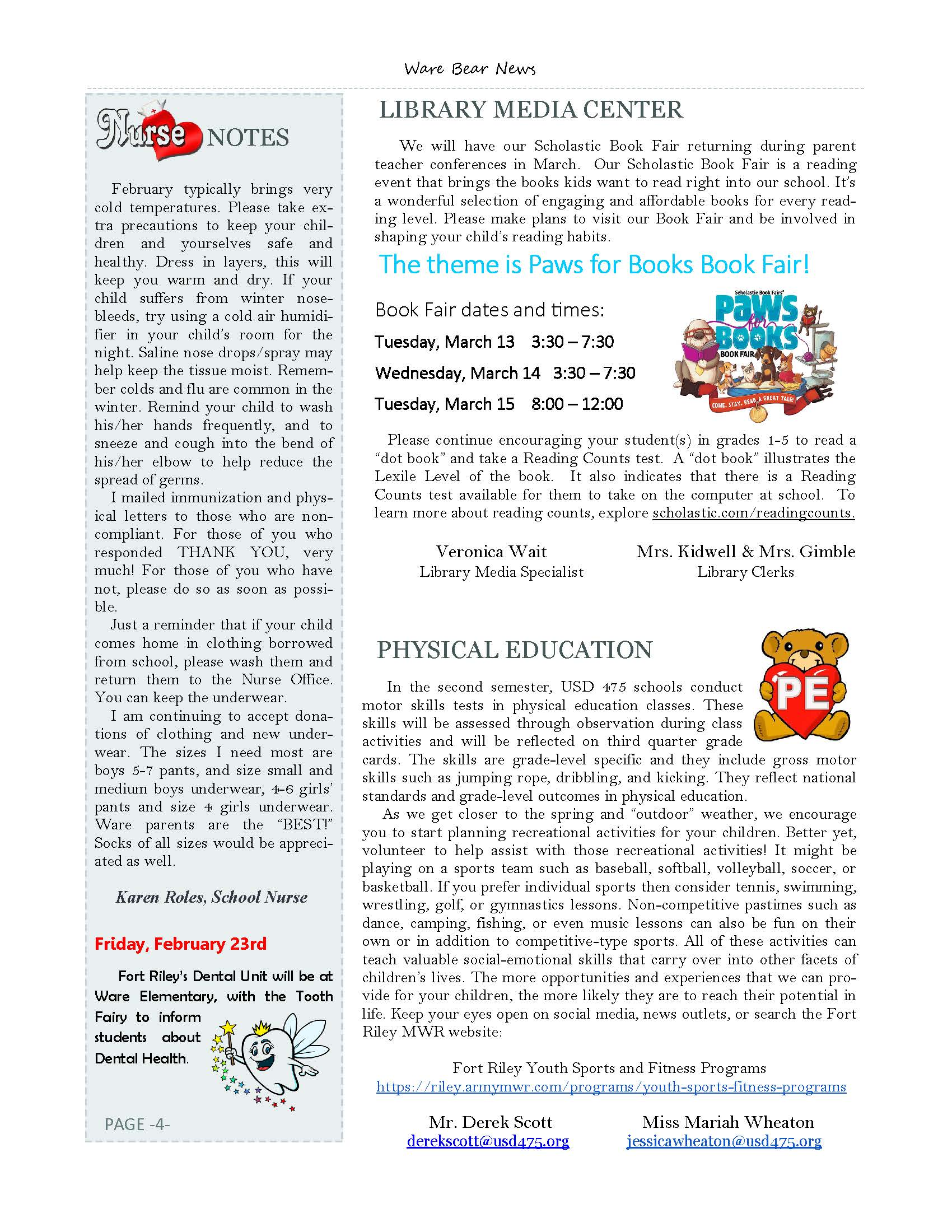February eNewsletter Page 4