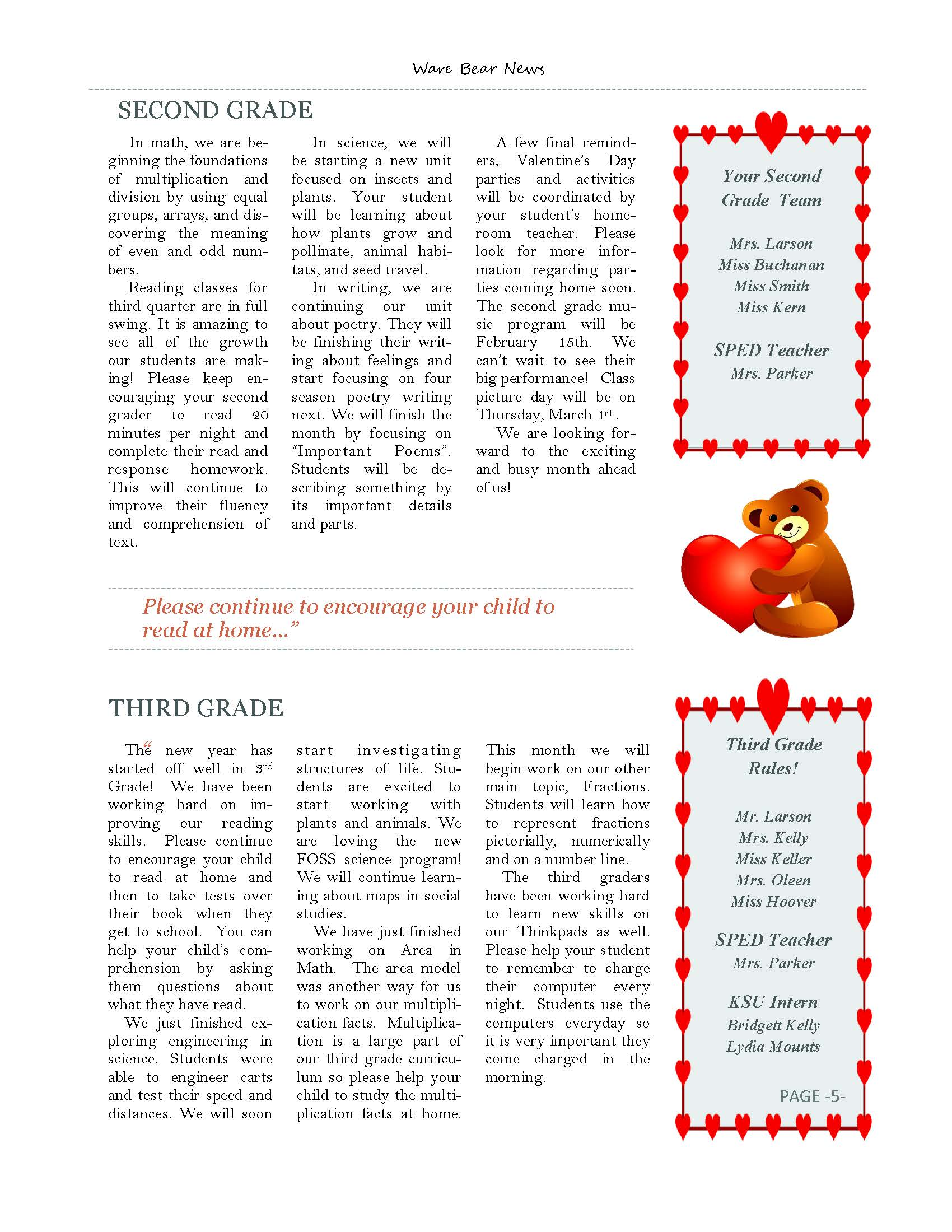 February eNewsletter Page 5