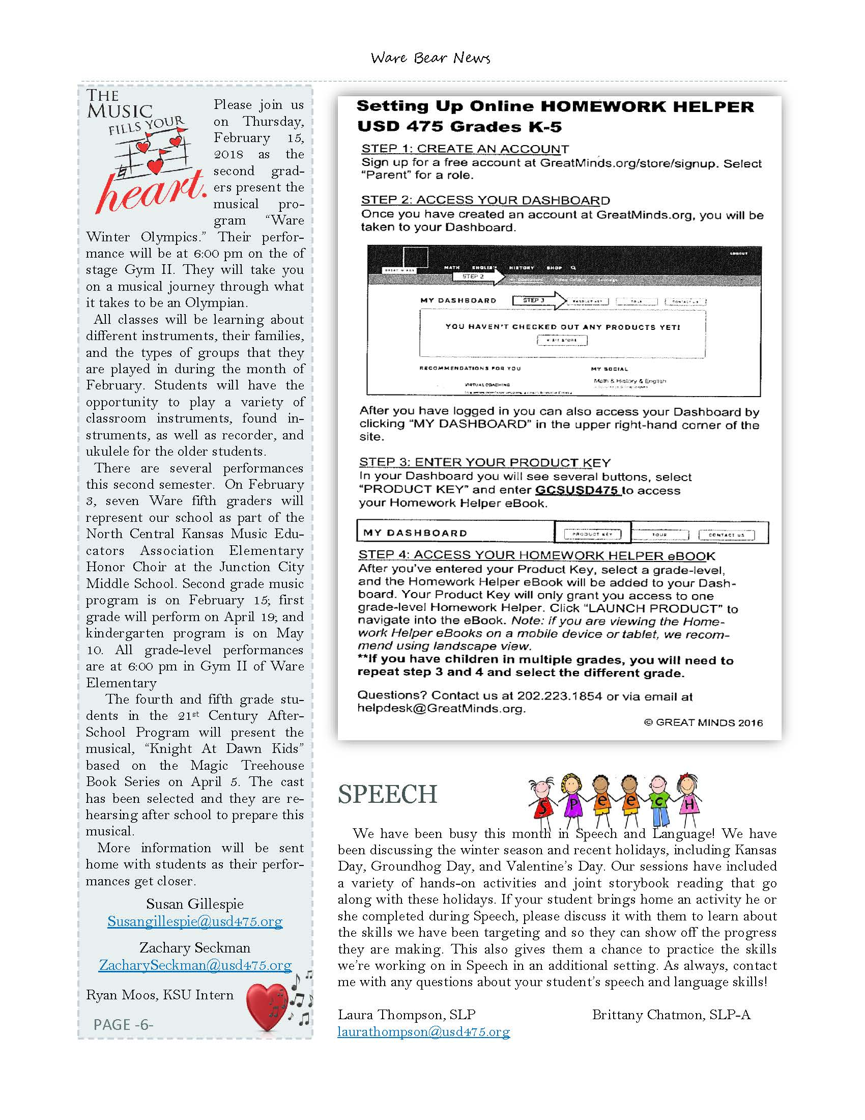 February eNewsletter Page 6