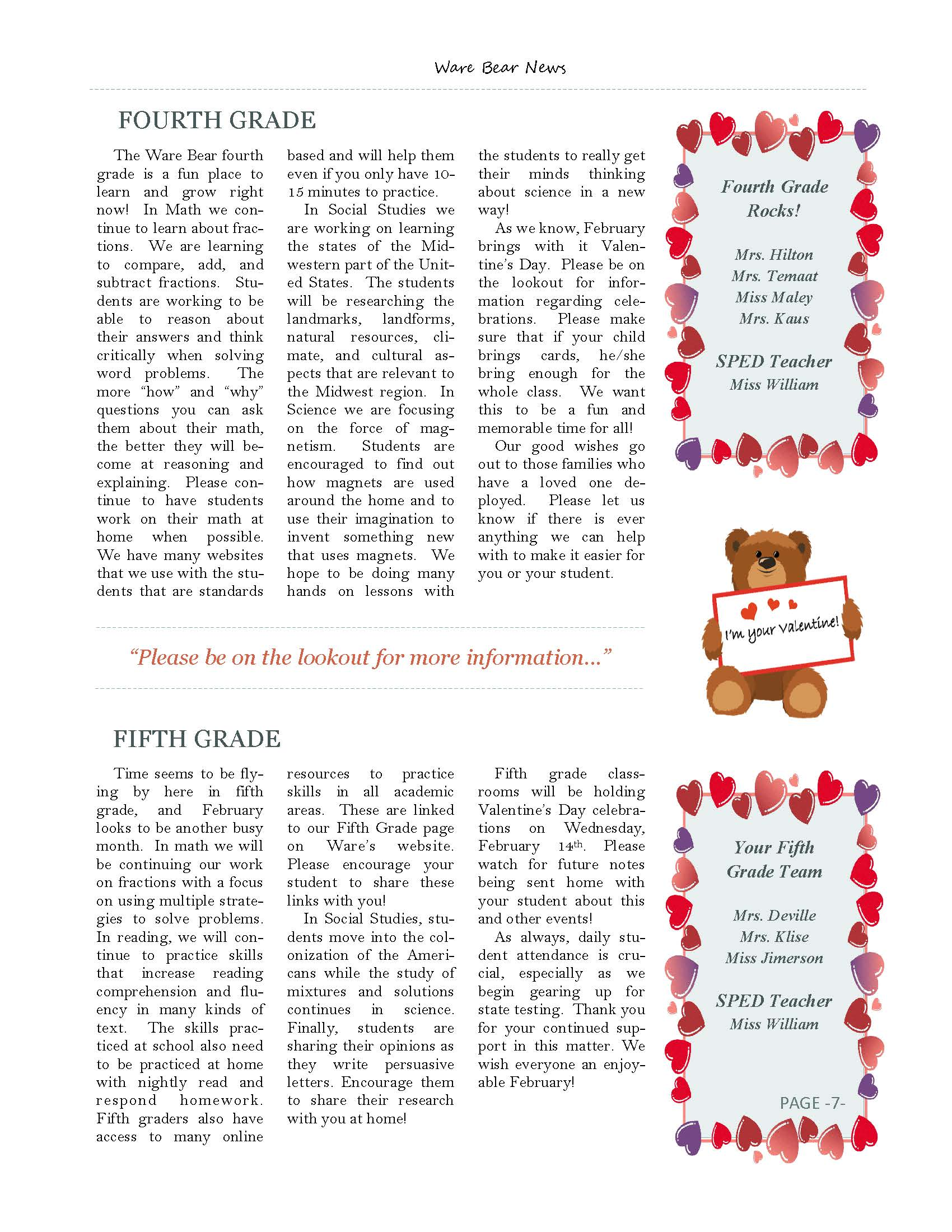 February eNewsletter Page 7