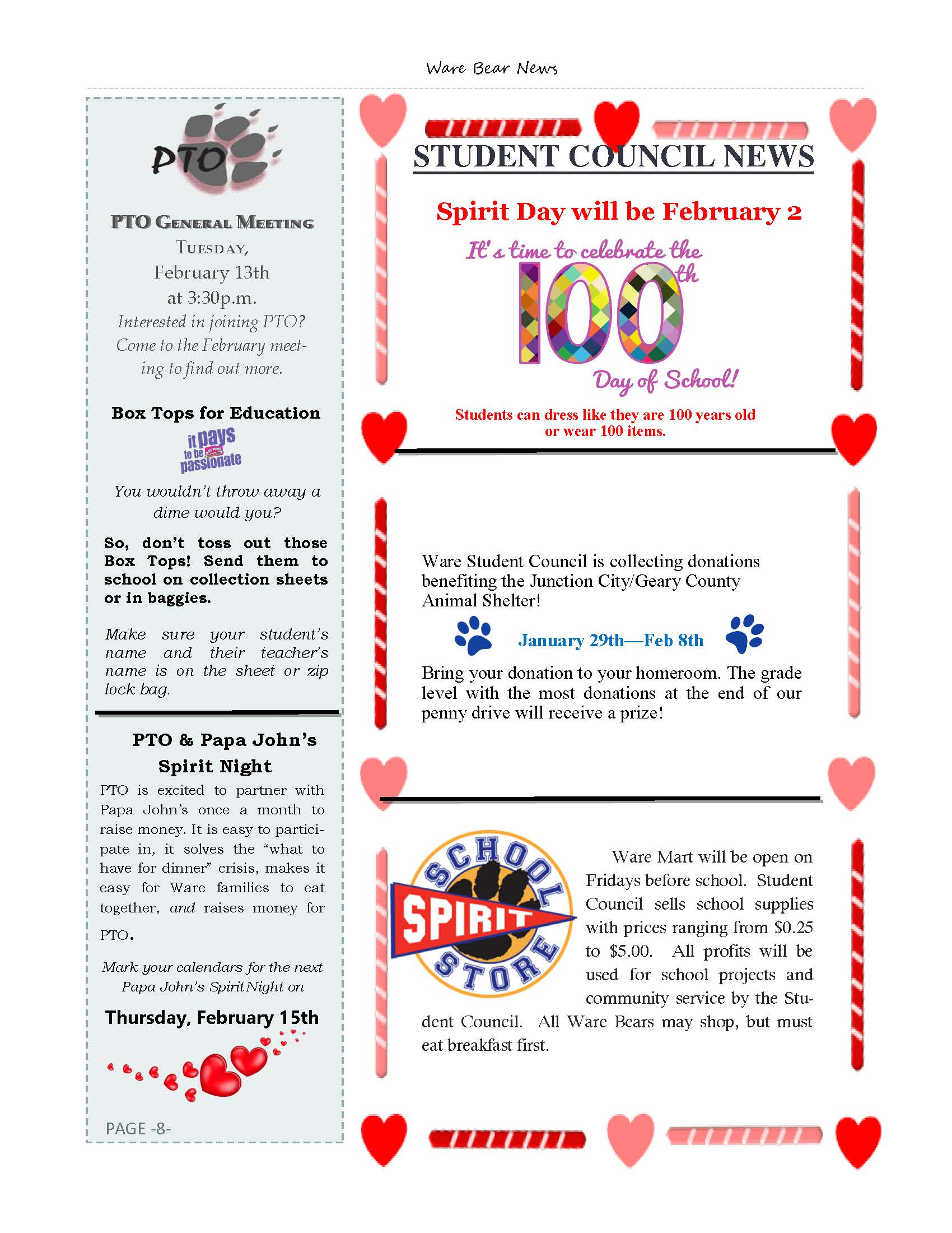February eNewsletter Page 8