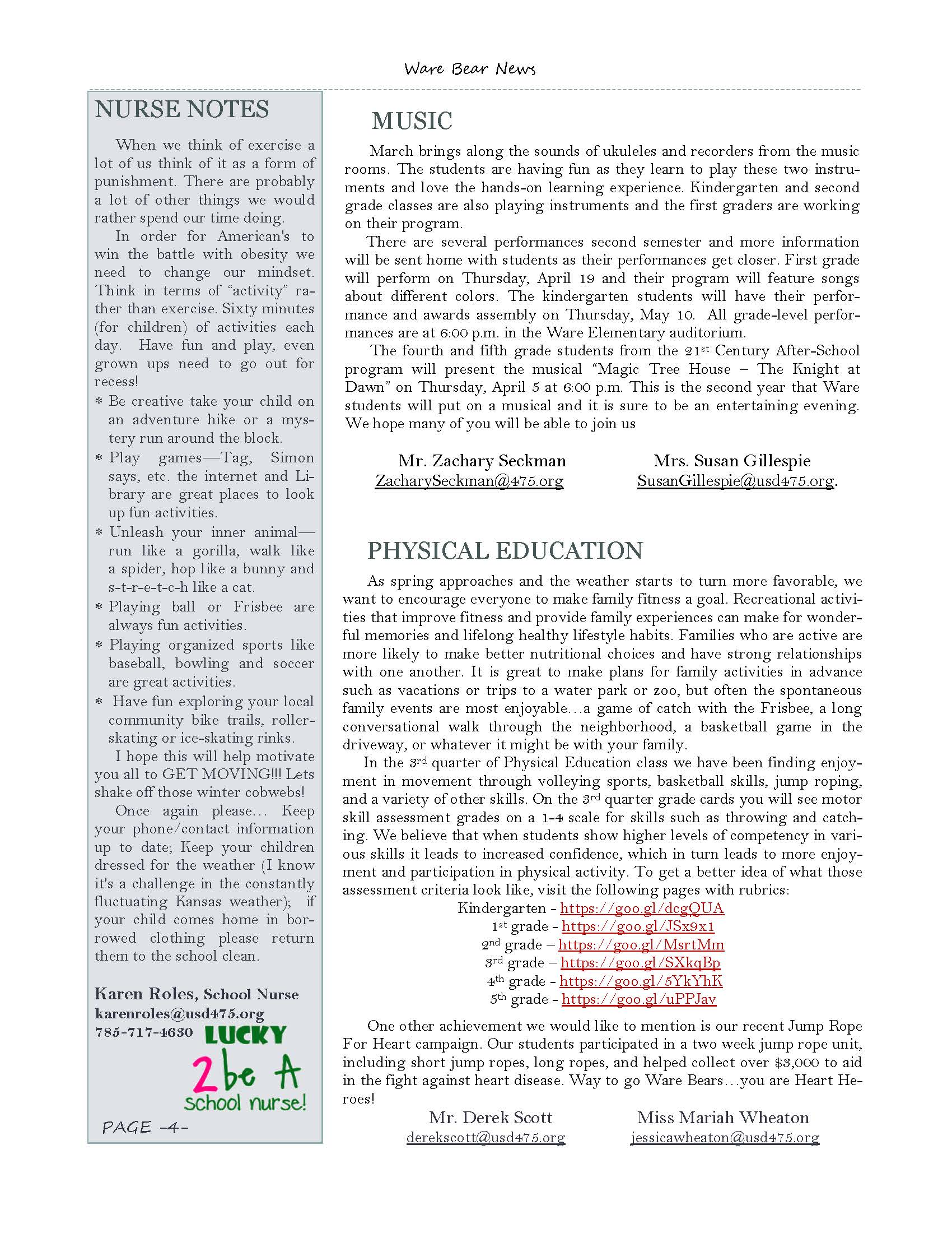 March eNewsletter Page 4