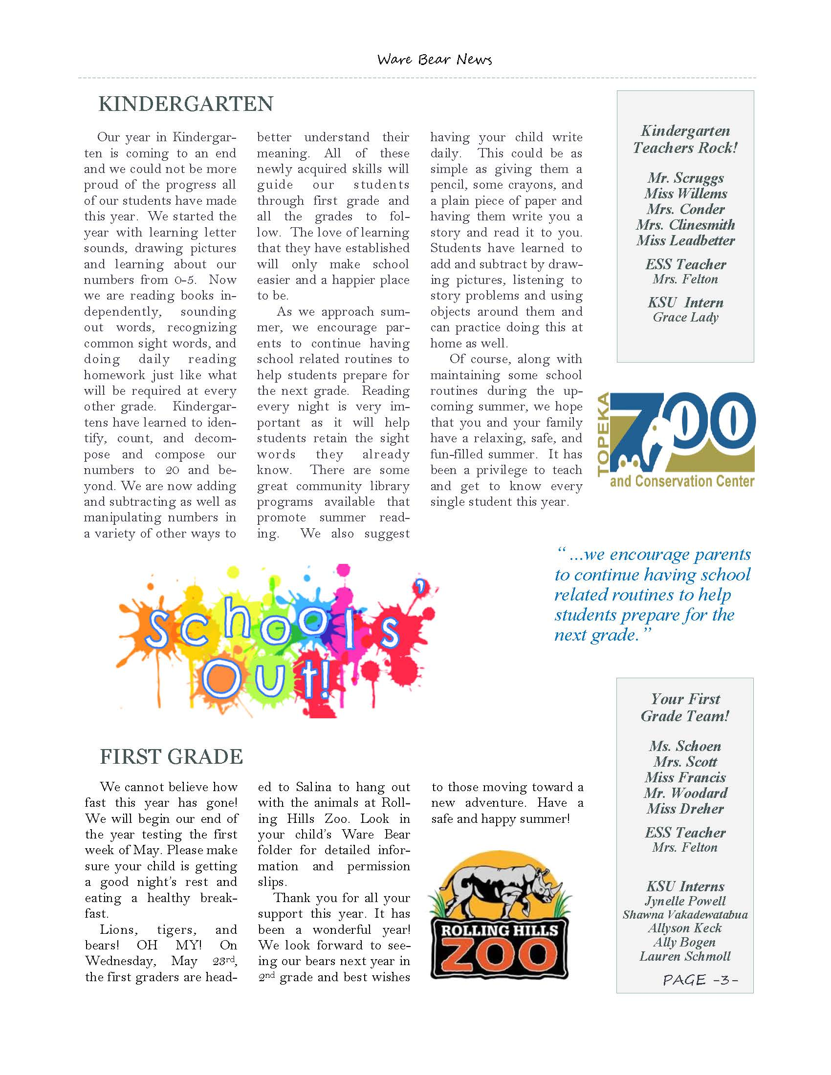 May eNewsletter Page 3
