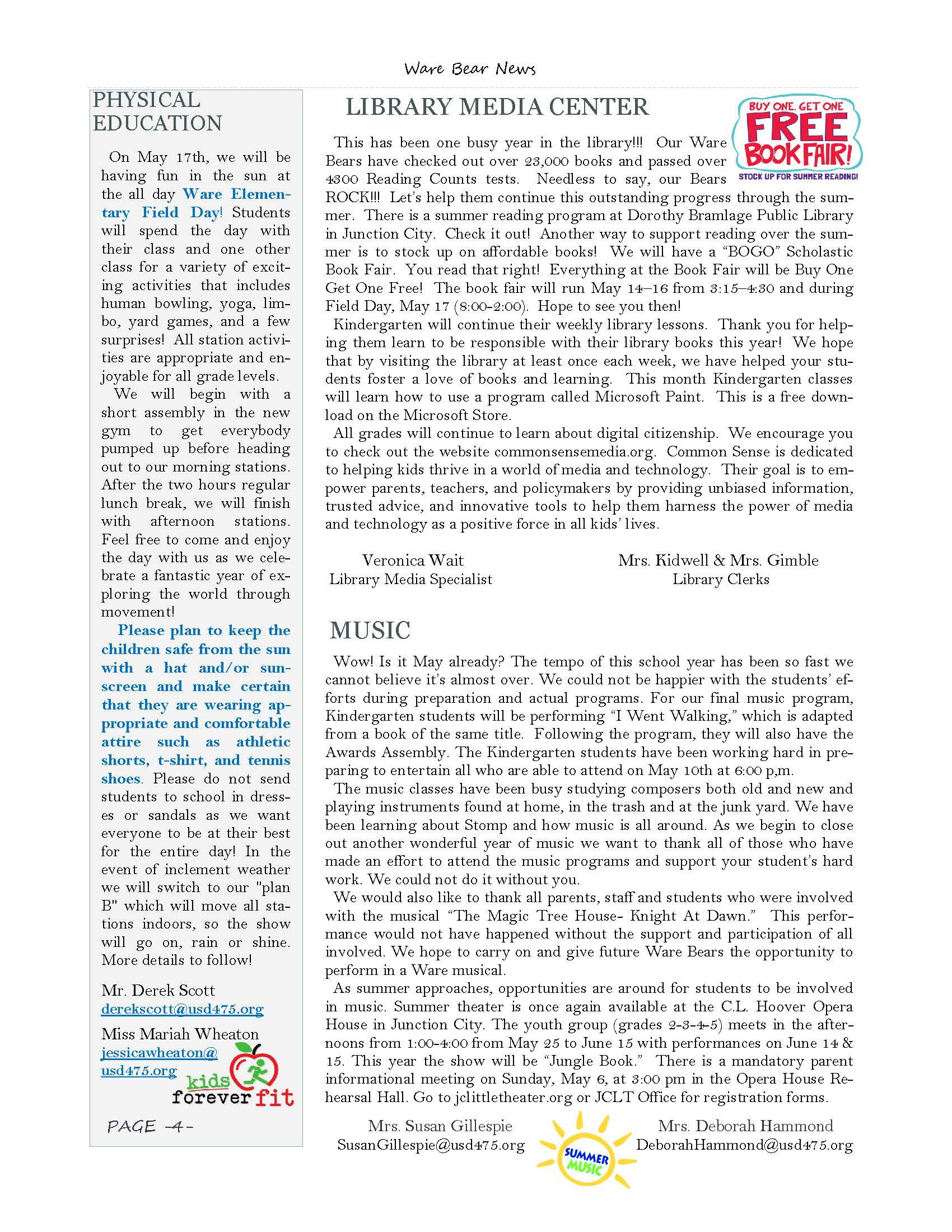 May eNewsletter Page 4