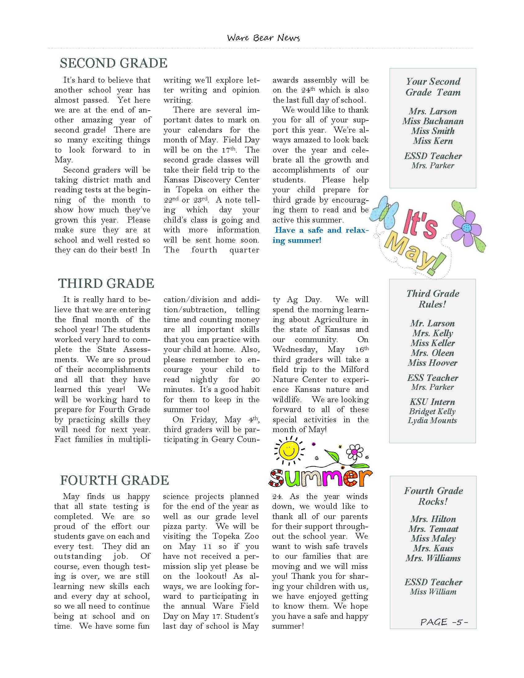 May eNewsletter Page 5