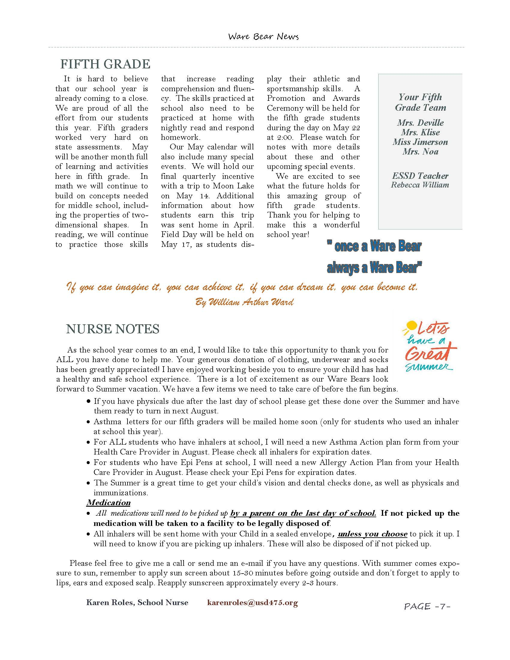 May eNewsletter Page 7