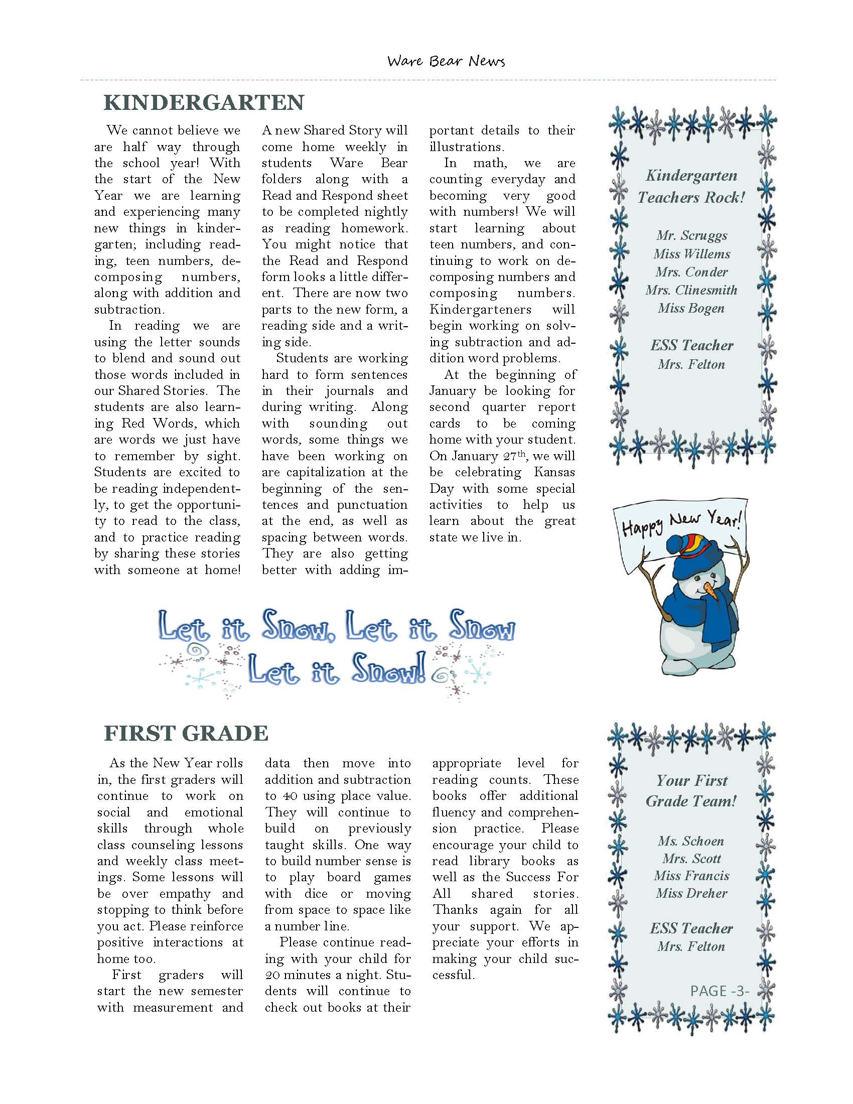 January eNewsletter Page 3
