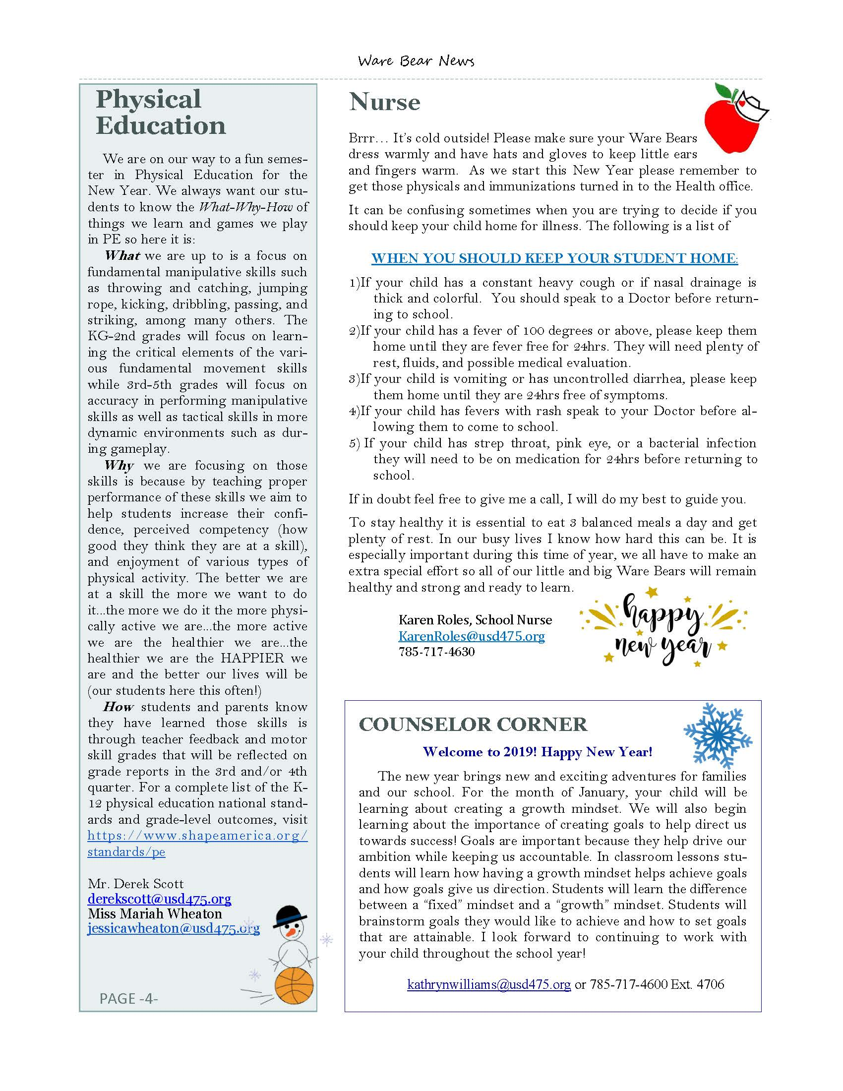 January eNewsletter Page 4