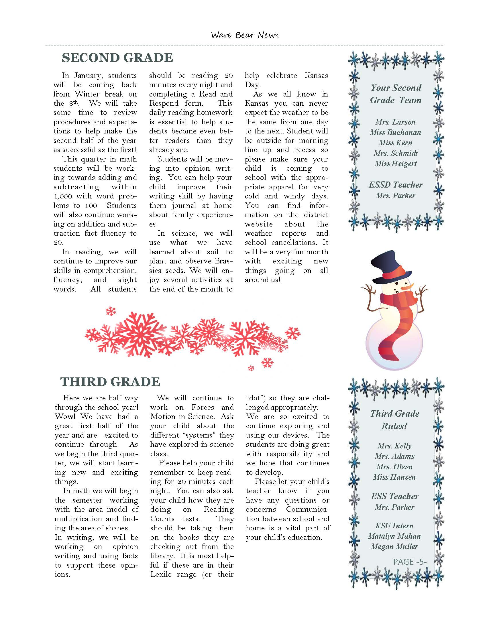January eNewsletter Page 5