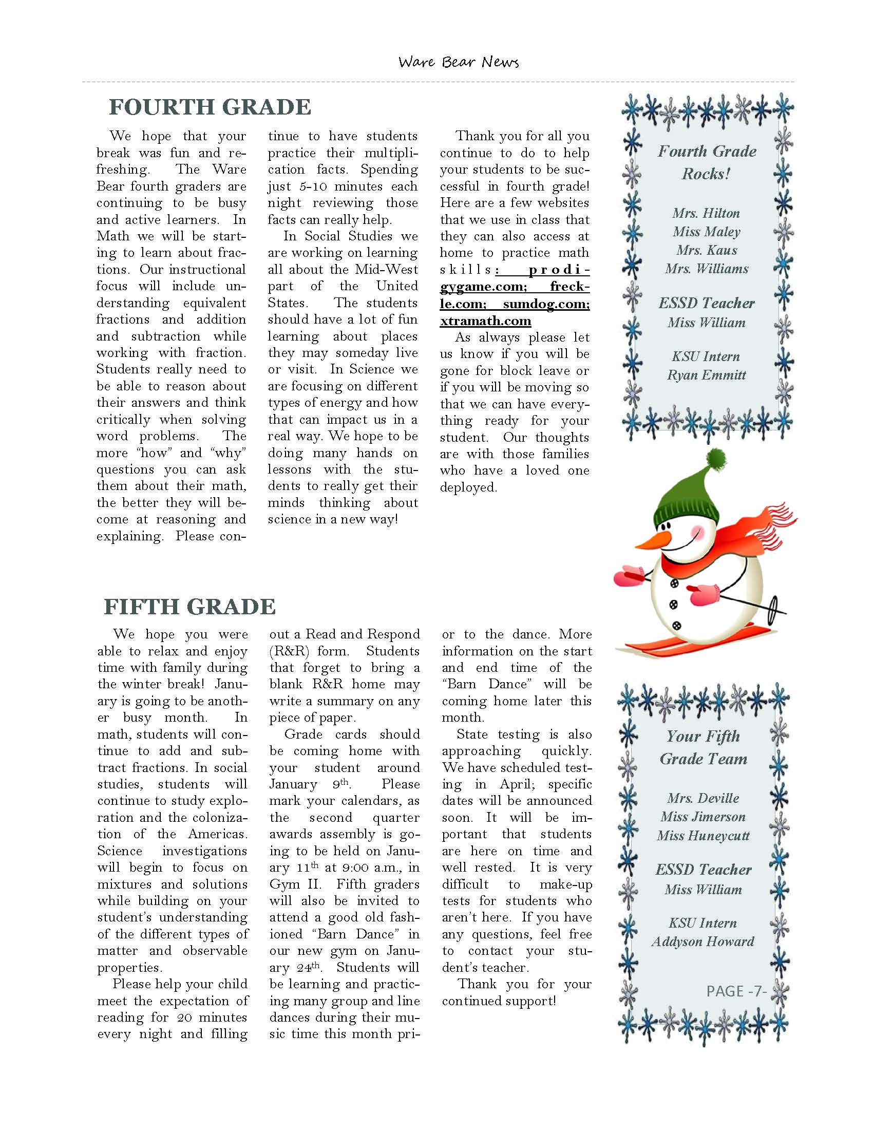 January eNewsletter Page 7