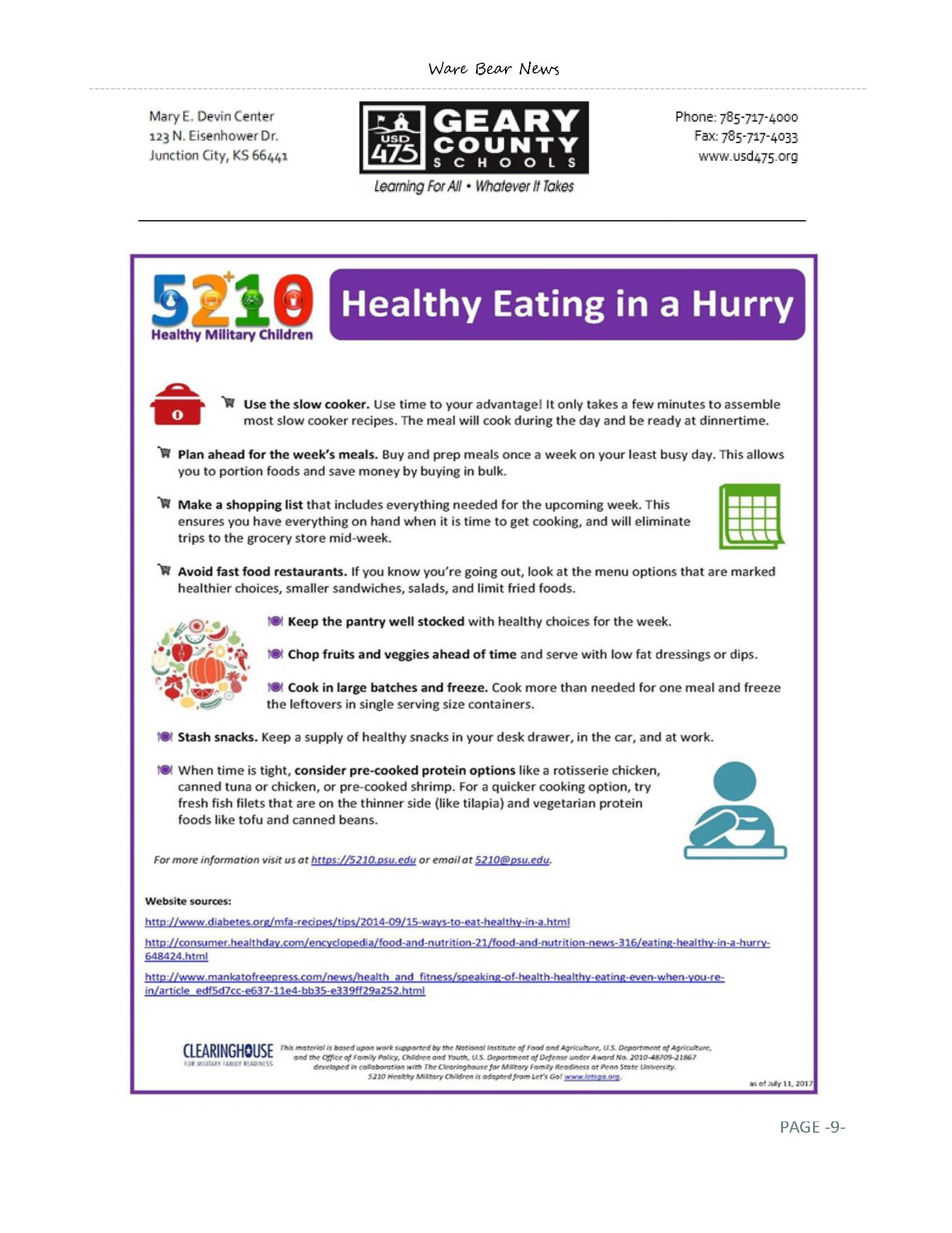 January eNewsletter Page 9