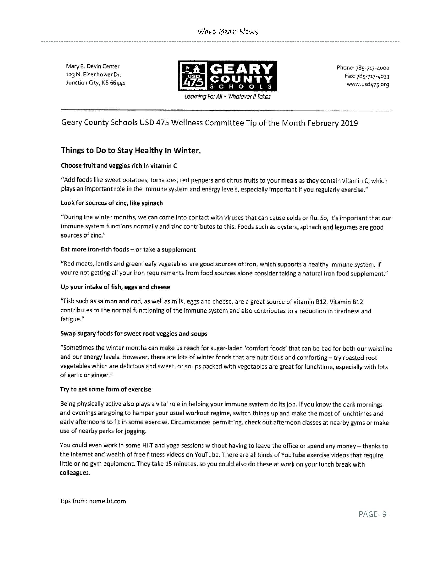 February eNewsletter Page 09