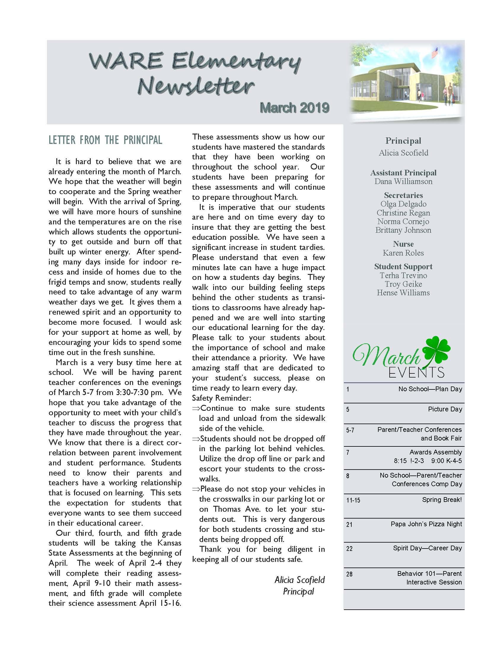 March eNewsletter Page 01