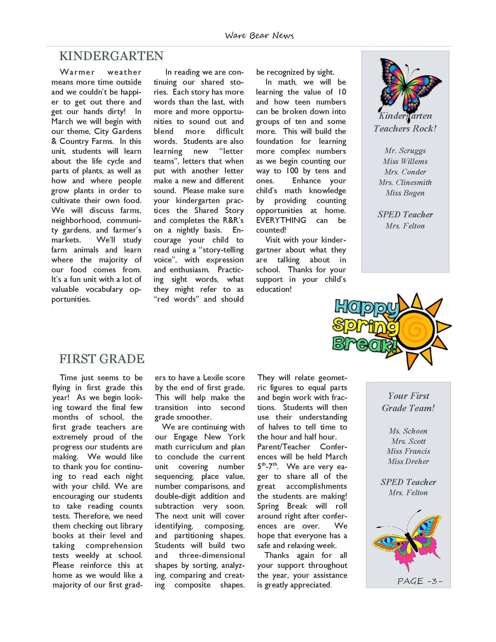 March eNewsletter Page 03