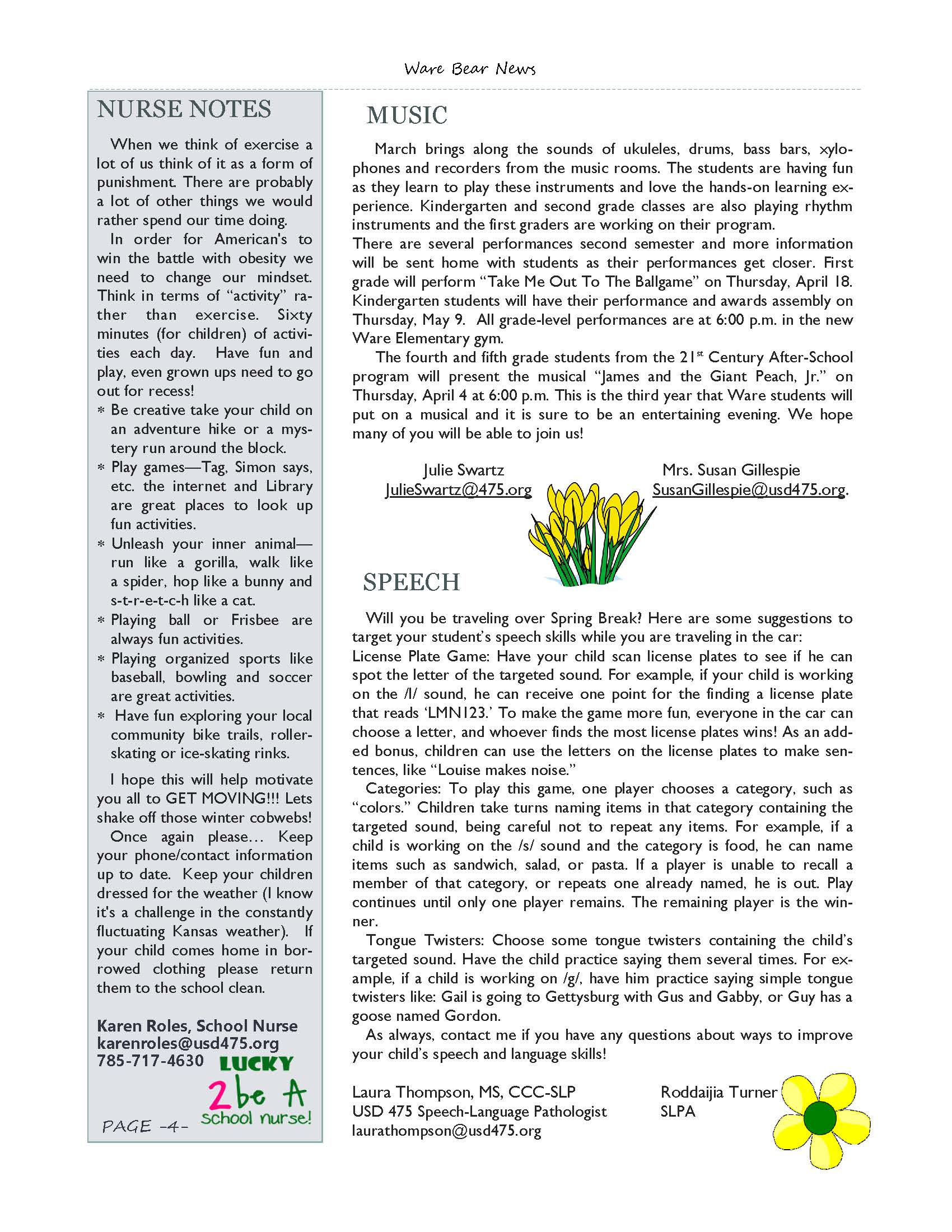 March eNewsletter Page 04