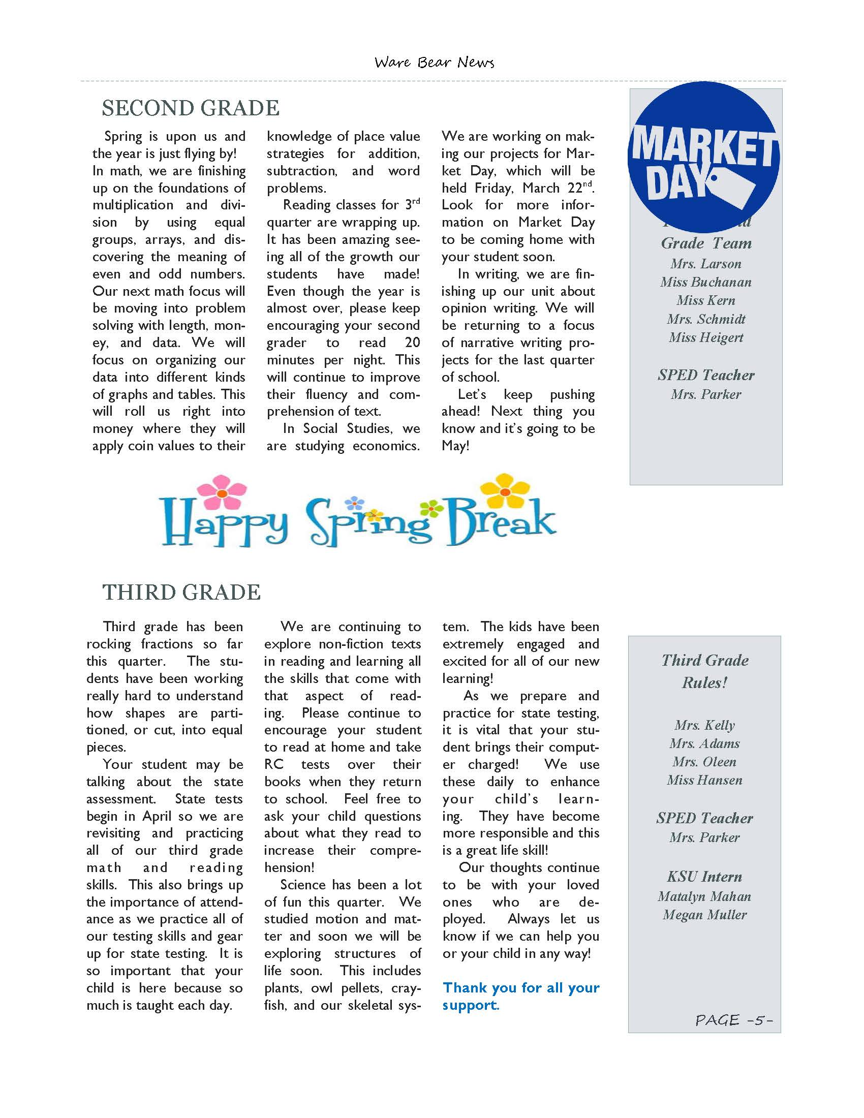 March eNewsletter Page 05
